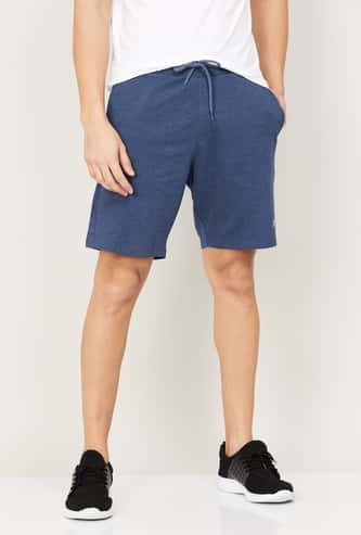 FAME FOREVER Men Solid Elasticated Shorts