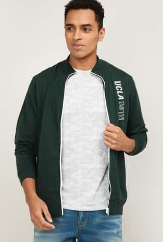 UCLA Men Printed Full Sleeves Sweatshirt