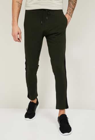 UCLA Men Colourblocked Slim Fit Elasticated Track Pants