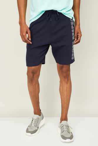 KAPPA Men Printed Regular Fit Knitted Shorts