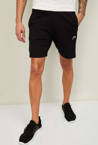 PROLINE Men Solid Regular Fit Elasticated Shorts