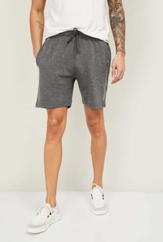 PROLINE Men Solid Elasticated Shorts