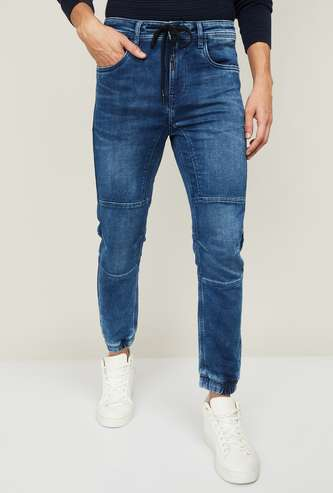 FORCA Men Stonewashed Jogger Jeans