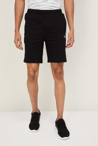 PUMA Men Solid Elasticated Shorts