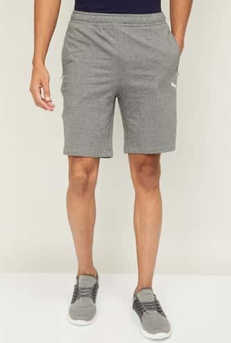 PUMA Men Solid Regular Fit Sports Shorts