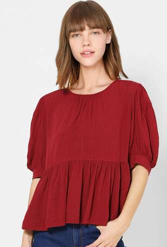 ONLY Women Solid Top