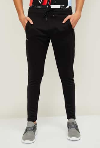 KAPPA Men Printed Slim Fit Track Pants