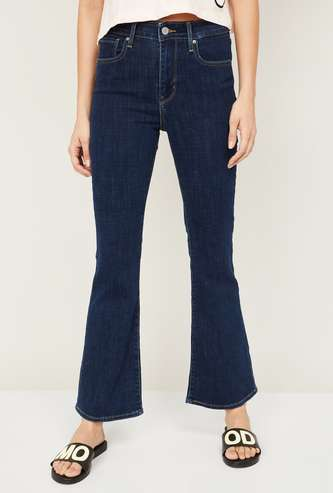LEVI's Women Solid Bootcut Fit Jeans