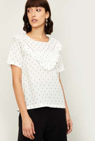 FAME FOREVER Women Printed Top