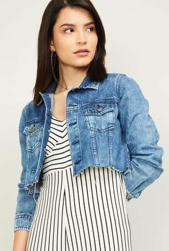 FAME FOREVER Women Denim Jacket