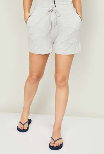 GINGER Women Solid Lounge Shorts