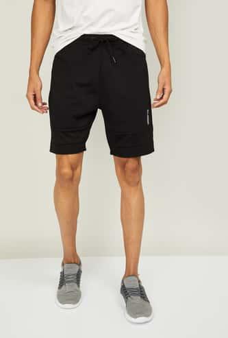 KAPPA Men Solid Regular Fit Sports Shorts