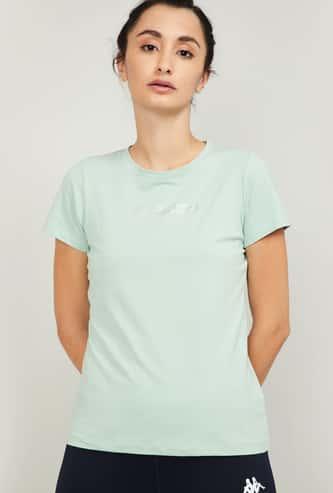 KAPPA Women Printed Gym T-shirt