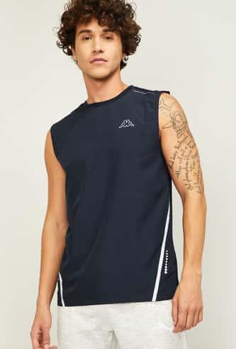 KAPPA Men Printed Sleeveless T-shirt