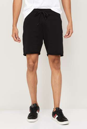 FORCA Men Solid Casual Shorts