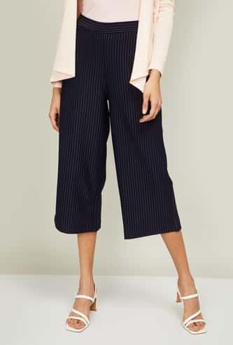 BOSSINI Women Striped Culottes