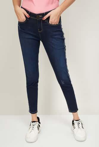 JEALOUS 21 Women Stonewashed Slim Fit Jeans