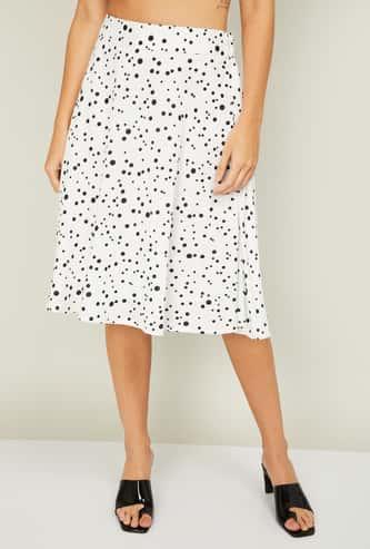 CODE Women Printed Skirt