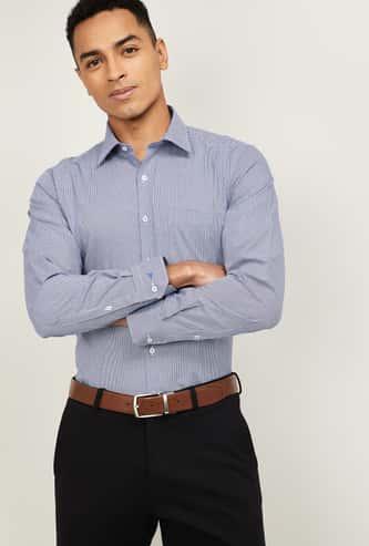 VAN HEUSEN Men Printed Slim Fit Formal Shirt