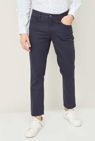 COLORPLUS Men Solid Super Slim Fit Jeans