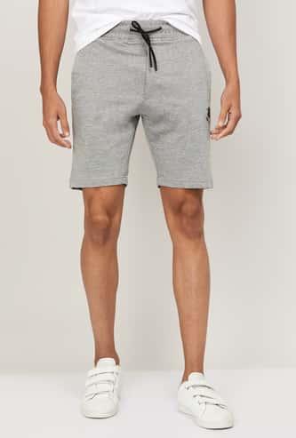 STATUS QUO Men Printed Elasticated Shorts