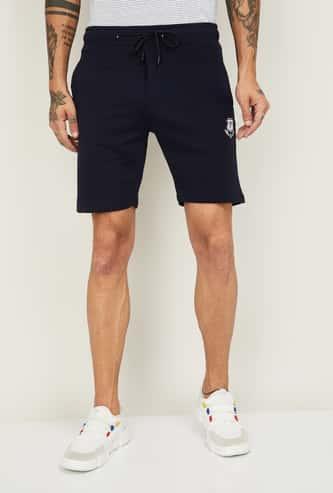 STATUS QUO Men Printed Regular Fit Elasticated Shorts