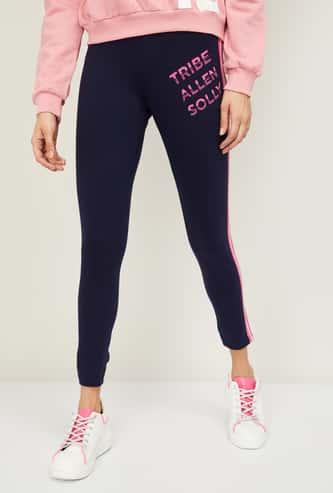 ALLEN SOLLY Women Printed Track Pants