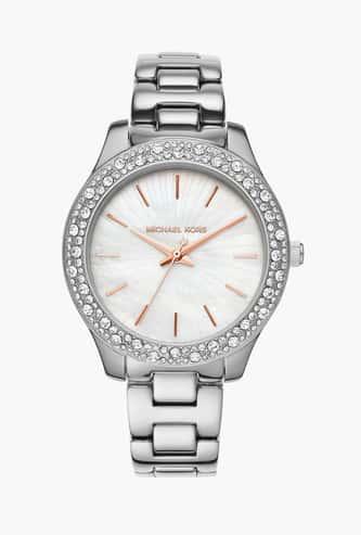 MICHAEL KORS Women Embellished Analog Watch- MK4556I