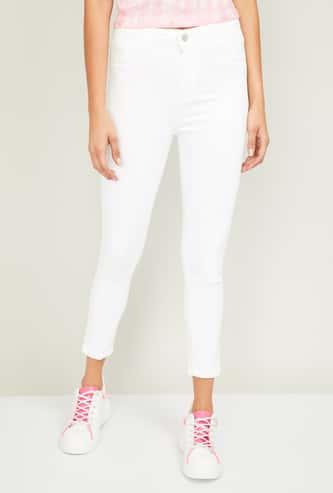 KRAUS Women Solid Super Skinny Fit Jeans