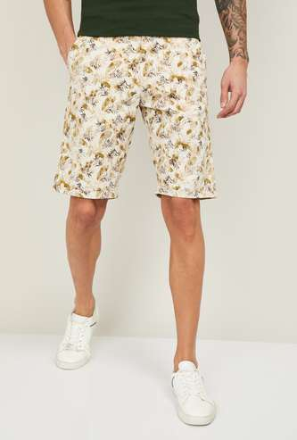 LP SPORT Men Floral Printed Casual Woven Shorts