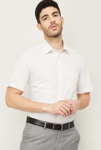 LOUIS PHILLIPE Men Checked Formal Shirt