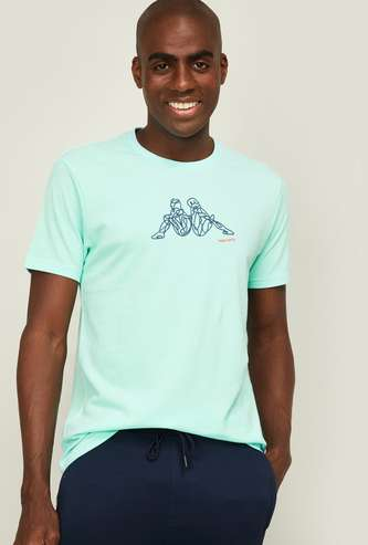 KAPPA Men Printed Crew Neck T-shirt