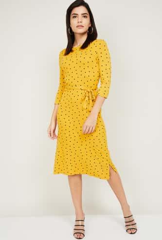 FAME FOREVER Women Printed Sheath Dress
