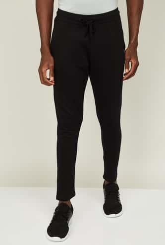 SMILEY Men Solid Track Pants