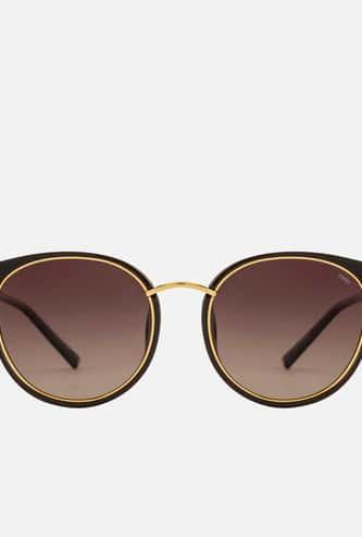 ESPRIT Women UV-Protected Round Sunglasses - ET-39133P-535-50