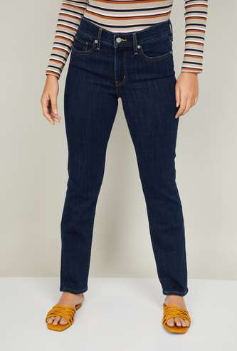LEVI'S Women Medium Washed Skinny Fit Jeans