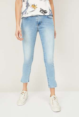 LEVI's Stonewashed Skinny Fit Jeans