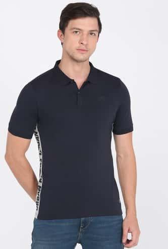 LEE Men Printed Polo T-shirt