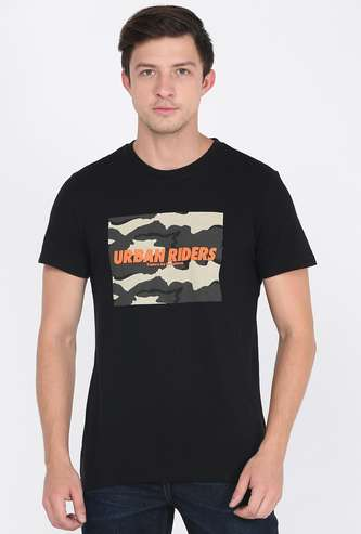 LEE Men Printed Crew Neck T-shirt