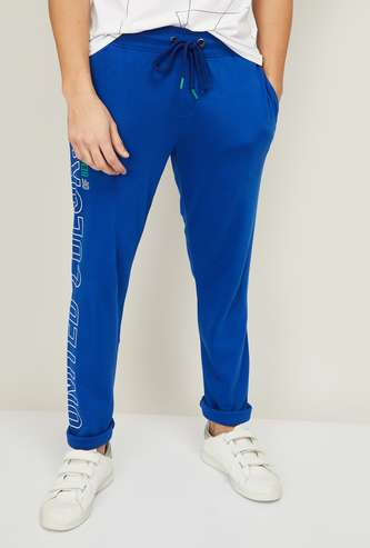 UNITED COLORS OF BENETTON Men Printed Track Pants