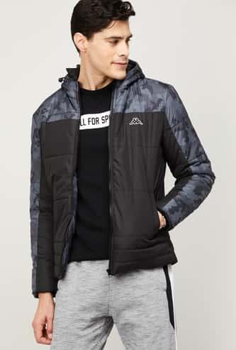 KAPPA Men Printed Puffer Jacket