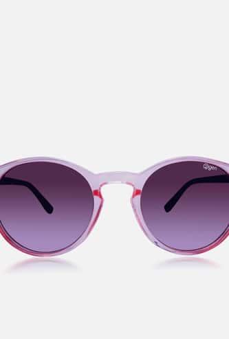 O2GEN Women Solid Round Sunglasses - O2-21-012-C1
