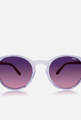 O2GEN Women Solid Round Sunglasses - O2-21-012-C3
