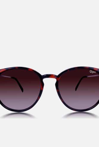O2GEN Women Printed Round Sunglasses - O2-21-018-C1
