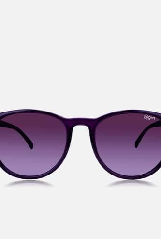 O2GEN Women Solid Oval Sunglasses - O2-21-011-C2