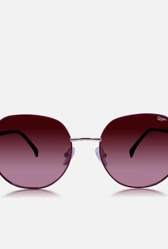 O2GEN Women Solid Oval Sunglasses - O2-21-017-C1-P