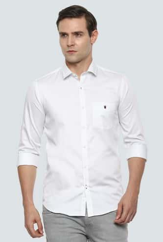 LP SPORT Men Printed Super Slim Fit Casual Shirt