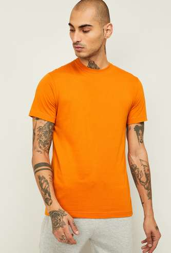 JOCKEY Men Solid Crew Neck Lounge T-shirt