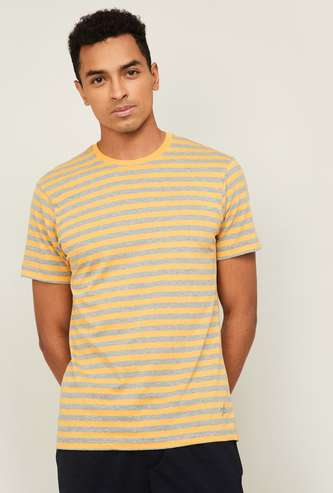 JOCKEY Men Striped Lounge T-shirt