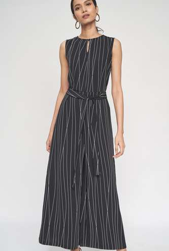 AND Women Striped Loose Fit Jumpsuit